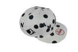 MARK McNAIRY NEW AMSTERDAM-Snap Back Hat (B/W Polka Dot)