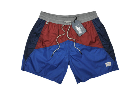 PENFIELD-Mackay Short (Blue Color Block)