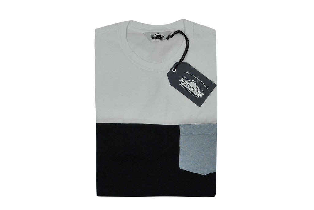 PENFIELD-Ranchwood Tee (White Color Block)