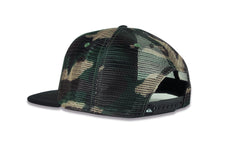 QUICKSILVER-Snapstern Trucker Hat (Camo)