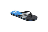 QUIKSILVER-Molokai Blocked Flip Flops (Black/Blue/Grey)