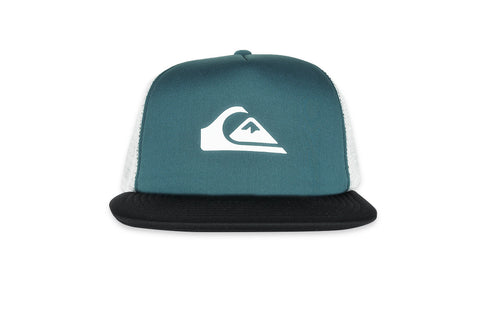 QUICKSILVER-Snap Addict Trucker Hat (Moroccan Blue)