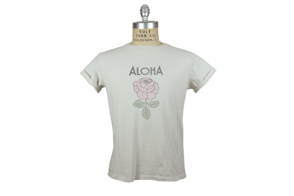 REMI RELIEF-Aloha Tee (Off White)