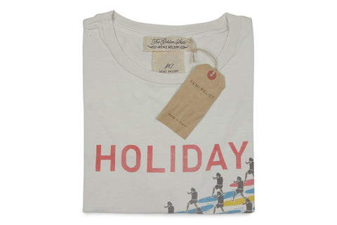 REMI RELIEF-Holiday Tee (Off White)