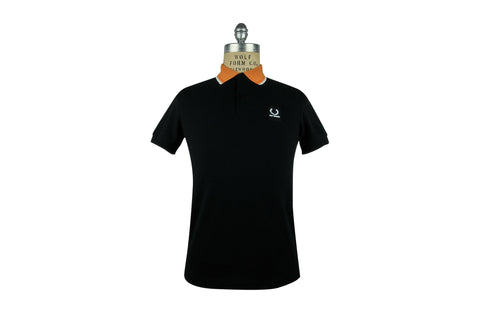 FRED PERRY x RAF SIMONS Contrast Collar Polo (Black)