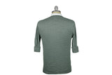 RELWEN-Plaited V-Neck Sweater (Sage Heather)
