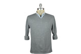RELWEN-Plaited V-Neck Sweater (Grey Heather)