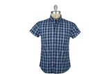 RELWEN-Half Sleeve Camp Shirt (Navy Multi)