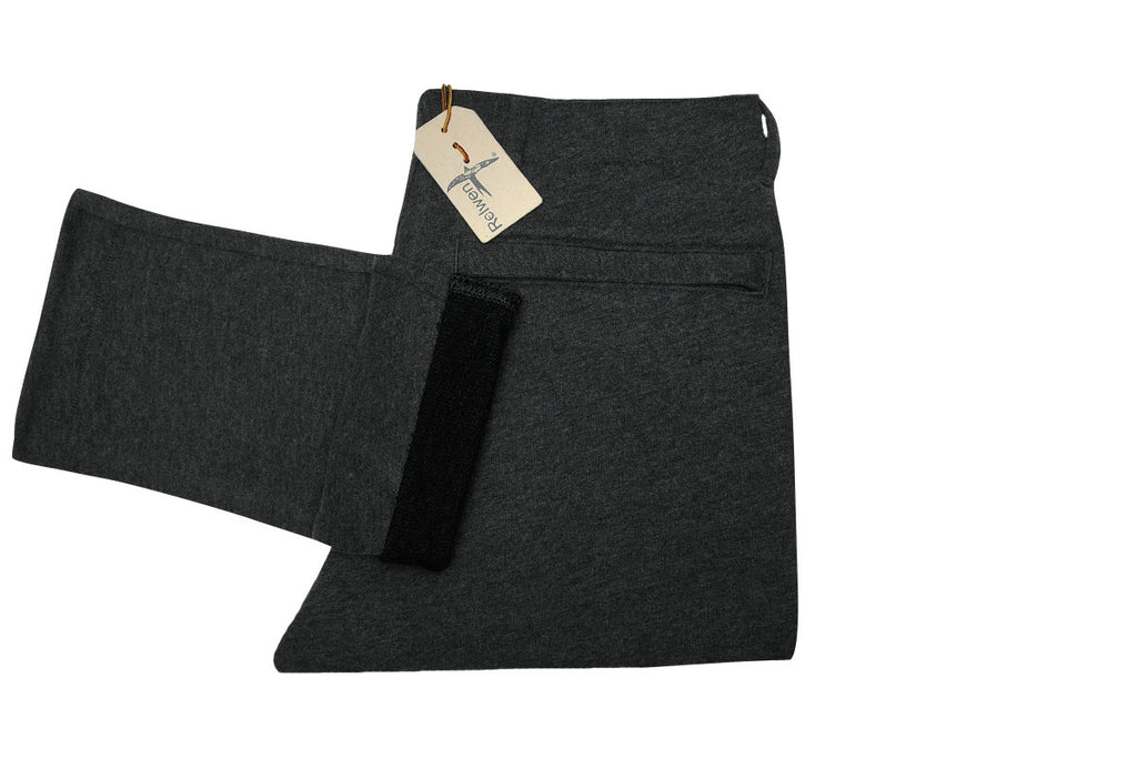 RELWEN-Knit Chino Pant (Charcoal Heather)