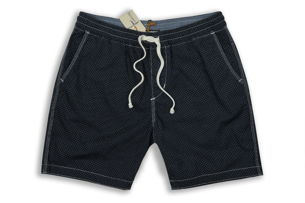 RELWEN-Volley Short (Navy Dot)