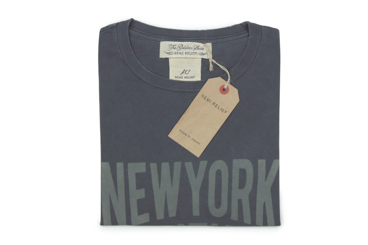 REMI RELIEF-NYC Tee (Charcoal)