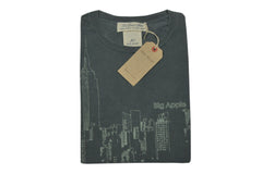 REMI RELIEF-New York Skyline Tee (Charcoal)