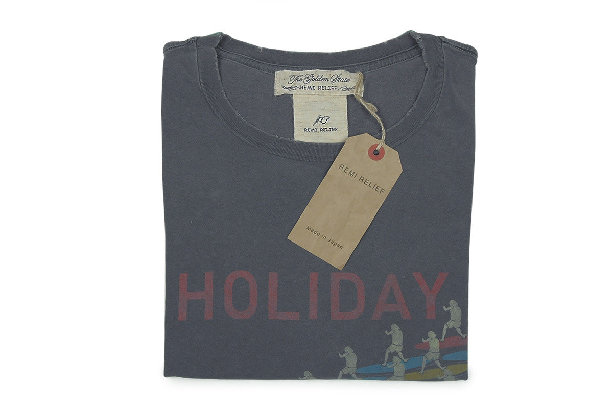 REMI RELIEF-Holiday Tee (Charcoal)