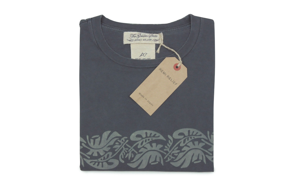 REMI RELIEF-Leaf Tee (Charcoal)