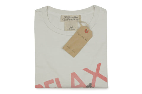REMI RELIEF-Relax Tee (Off White)