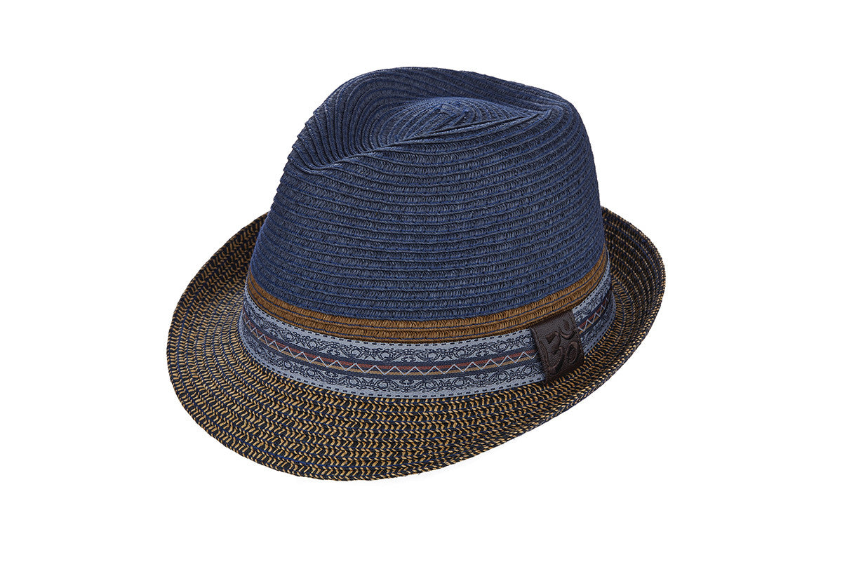 CARLOS by DORFMAN-PACIFIC-Bliss Hat (Denim Blue)