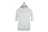 SAVE KHAKI-Fleece Hooded Sweatshirt (White)