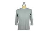 SAVE KHAKI-L/S Crew Tee (Silver Heather)
