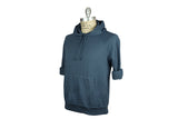 SAVE KHAKI-Fleece Hooded Sweatshirt (Good Blue Heather)