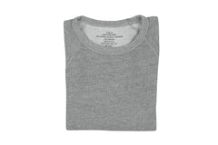 SAVE KHAKI-French Terry Sweatshirt (Silver Heather)