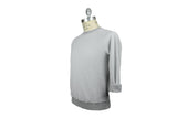 SAVE KHAKI-Fleece Reversible Sweatshirt (Silver Heather)