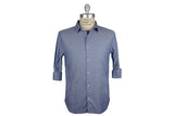 SAVE KHAKI-Washed Oxford Simple Shirt (Blue Collar)