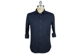 SAVE KHAKI-Washed Oxford Simple Shirt (Marine)