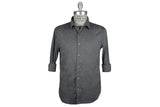 SAVE KHAKI-Washed Oxford Simple Shirt (Metal)