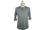 SAVE KHAKI-Pointelle Henley (Metal)