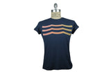 SOL ANGELES-Sun Waves Tee (Navy)