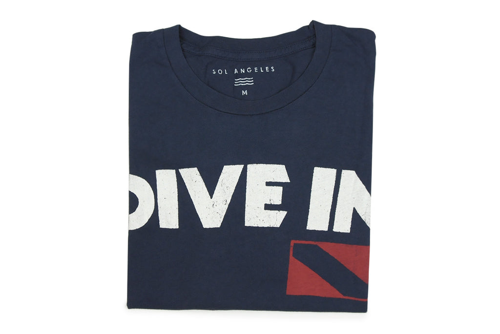 SOL ANGELES-Dive In Tee (Navy)