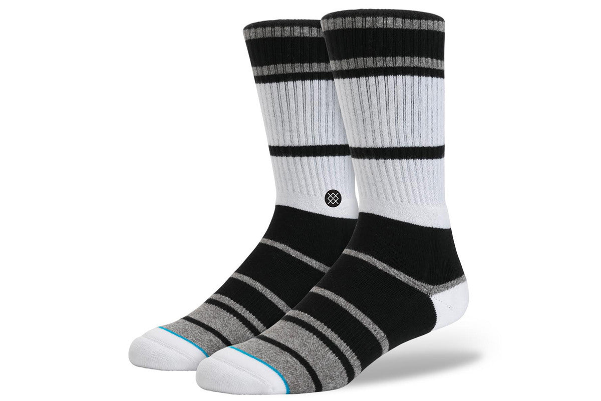 STANCE-Lowell 2 Crew (Black/White/Grey)