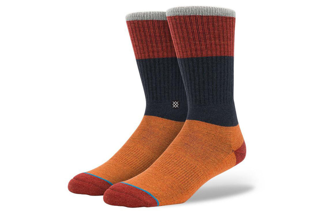 STANCE-Mastco Crew (Orange/Navy/Rust)