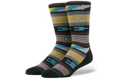 STANCE-Vibrato Crew (Grey Heather/Orange)