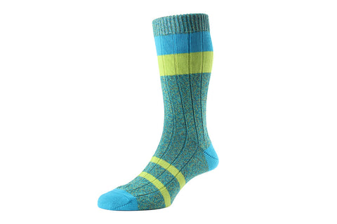 SCOTT NICHOL SOCKS-The Kennington (Peppermint)