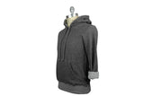 V: : Room-Cotton Gauze Fleece Hoodie (Charcoal Melange)