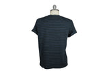V: : Room-Highsoft Border Jersey Tee (Navy Multi Stripe)