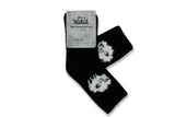 WOOLRICH HOME-Feather Aloe Sock (Black Sheep)