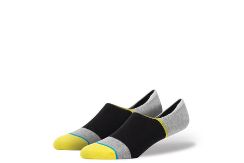 STANCE-Zinca No-Shows (Black/Grey/Yellow)