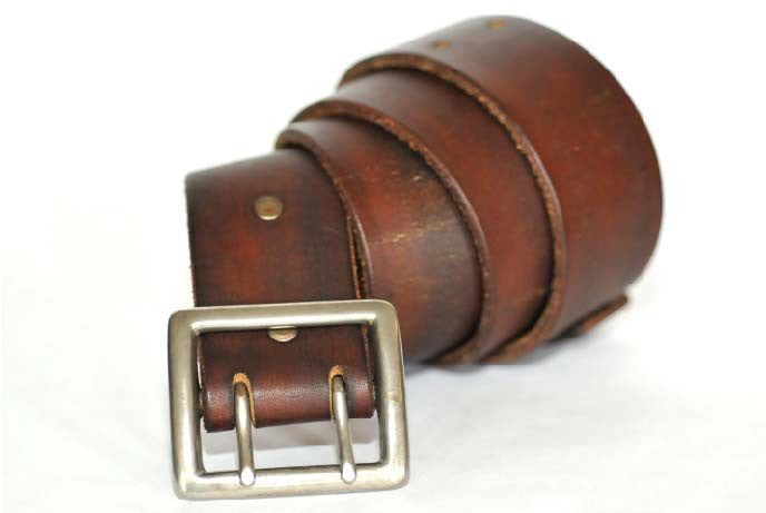 Vintage belt in Brick