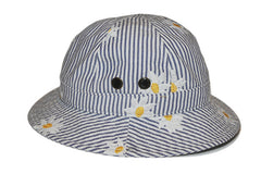 MARK McNAIRY NEW AMSTERDAM-Bucket Hat (Daisy Seersucker)