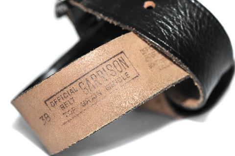 Vintage Garrison Belt (Black)