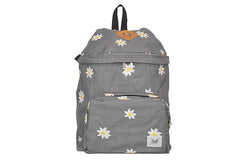 MARK McNAIRY NEW AMSTERDAM-Backpack (Pewter w/ Daisy Embroidery )