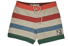 HANG TEN GOLD-LINES BOARDSHORTS (Multi Stripe)