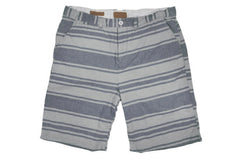 JACHS-Bermuda Shorts (Indigo/Natural Stripe)