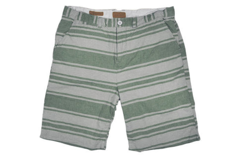 JACHS-Bermuda Shorts (Cactus/Natural Stripe)