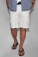 Save Khaki Cargo Short Stone