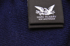 MARK McNAIRY NEW AMSTERDAM-Daisy Knit Cap (Navy)