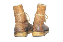 Vintage Outdoorsman Boots (Natural)