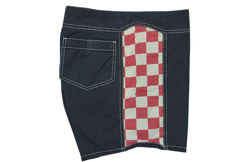 "QUICKSILVER ORIGINALS-15"" Arch Board Shorts (Navy w/ Red & White)"